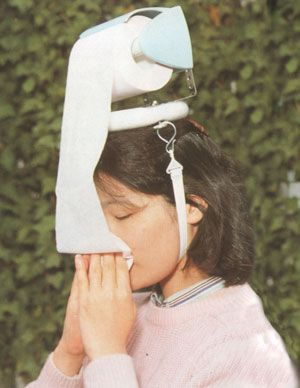 I needed this all of this past week! haha: Cold Remedies, Idea, Allergies Seasons, Toilets Paper, Dr. Who, Crazy Inventions, Runny Nose, Paper Hats, Japanese Inventions