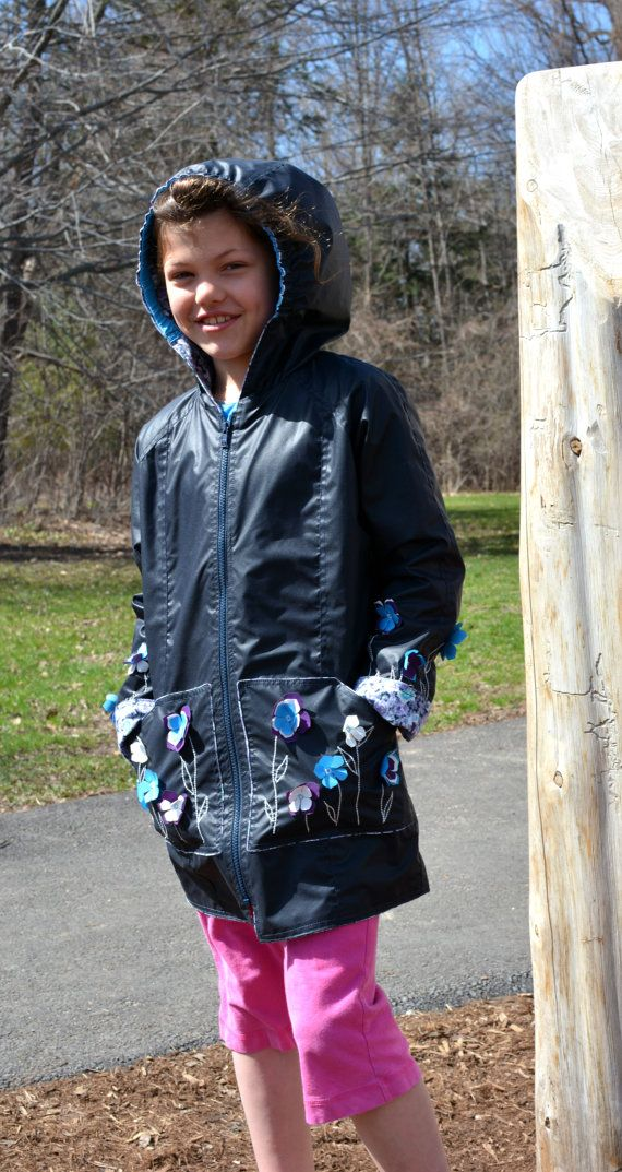 Rain Jacket Wind Jacket Spring Garden Inspired by PetiteLettie, $149.00