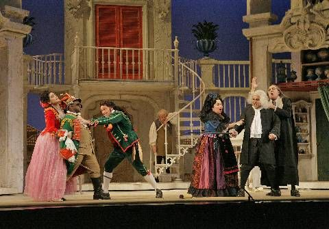 The Barber of Seville. Also includes the stock character of Figaro(the ...