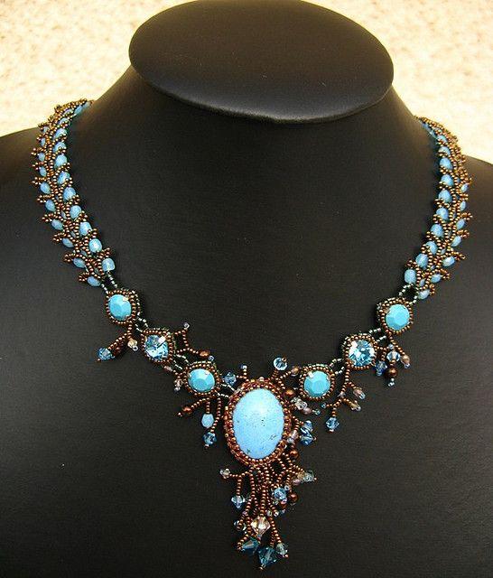 Temperance necklace by Cielo Design, via Flickr
