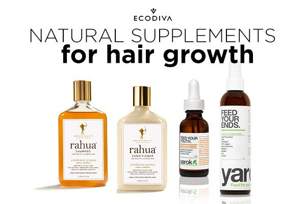 Want long, luscious hair? Add the best natural supplements for hair growth to your daily routine.