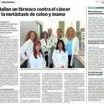 Hallan un fármaco contra el cáncer y la metástasis de colon y mama ¡Celebramos la Noticia! http://guiamedica.es/hallan-un-farmaco-contra-el-cancer-y-la-metastasis-de-colon-y-mama-celebramos-la-noticia/