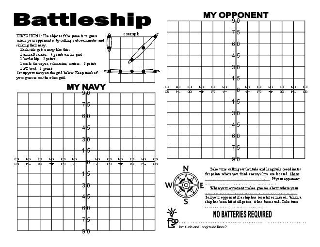 367 best Math images on Pinterest Learning, School and Classroom - battleship game template