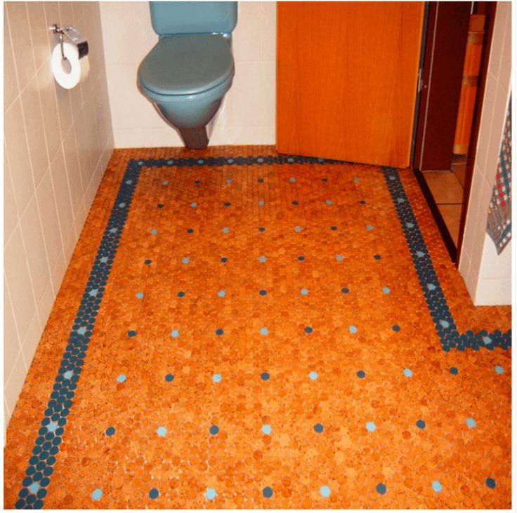 amazing cork bathroom flooring ideas | 21 Great Cork Flooring Ideas For Every Room | Cork ...