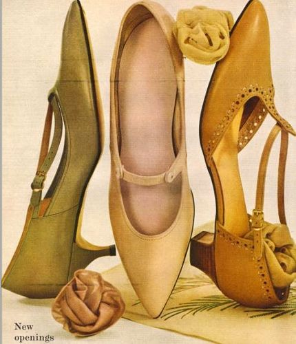 Gorgeous heels in timeless hues. I'd happily sport any one of these pairs.