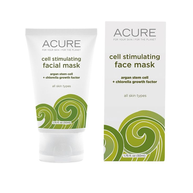 Acure Organics Cell Stimulating Facial Mask. Not Bad But