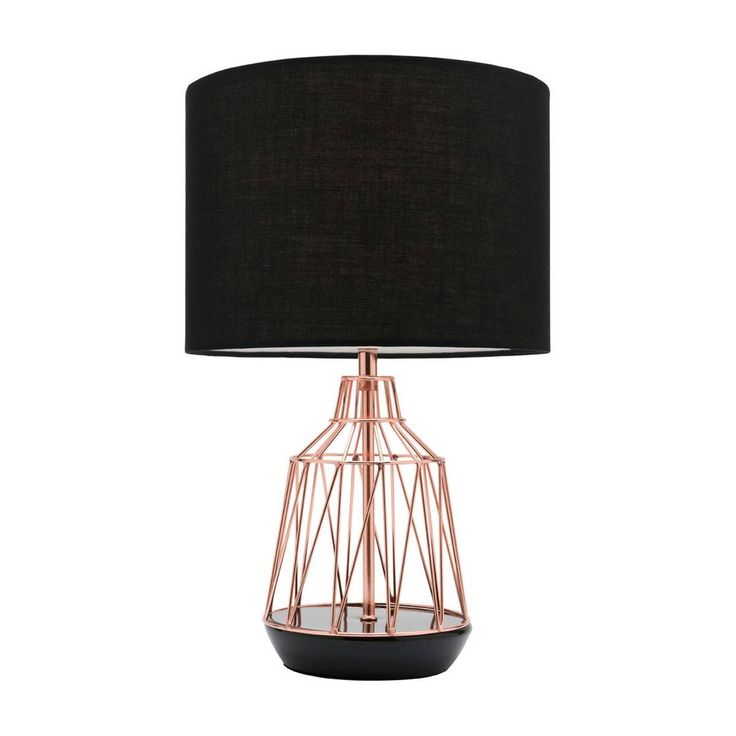 Shop Scandinavian Table Lamps Online or Visit Our Showrooms To Get Inspired With The Latest Lighting From Life Interiors - Gemma Table Lamp (Black)
