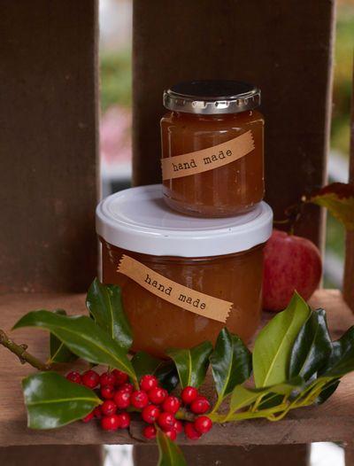 selbstgemachte Apfel-Amaretto-Marmelade