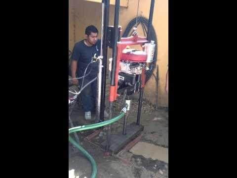 PERFORADORAS DE POZOS DE AGUA ROTARIAS EQUIPO PARA LA PERFORACION DE POZO DE AGUAS HACER USTED MISMO EXTRAER AGUA PERFORE DE 0 A 120 METROS O MAS