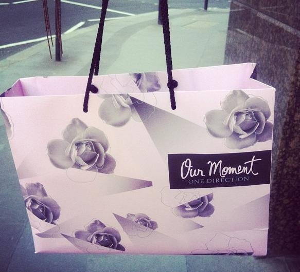 Our Moment- One Direction perfume #bag