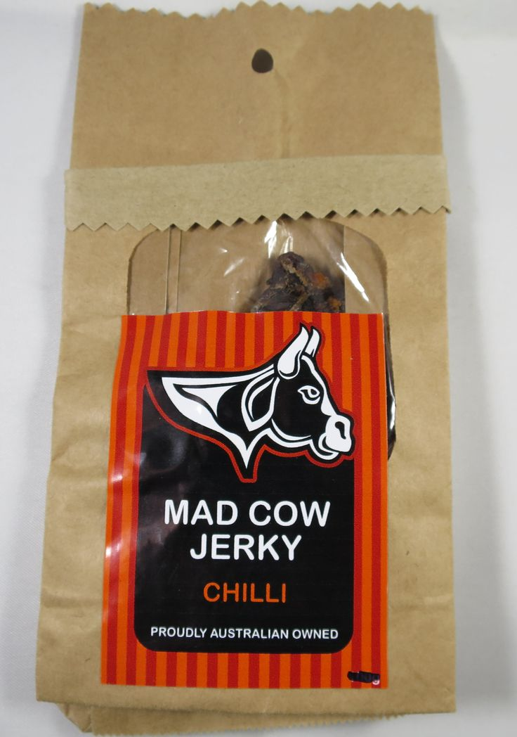 Discover how Mad Cow Jerky - Chili beef jerky fared in a jerky review. http://jerkyingredients.com/2015/08/04/mad-cow-jerky-chilli-beef-jerky/ @madcowjerky #madcowjerky #australia #beefjerky #review #food #jerky #ingredients #jerkyingredients #jerkyreview #beef #paleo #paleofood #snack #protein #snackfood #foodreview #chili #spicy #chilipeppers