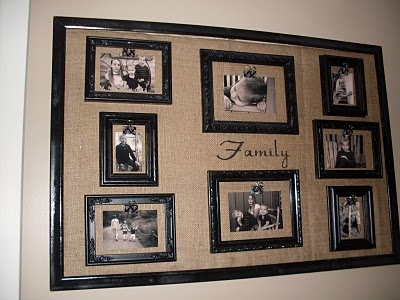Craft Critters: Photo Frame Collage