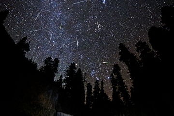 Watch a meteor shower