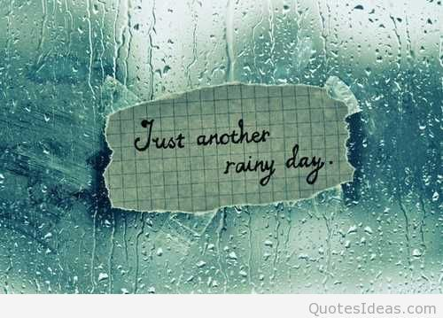 rainy morning quotes - Google Search