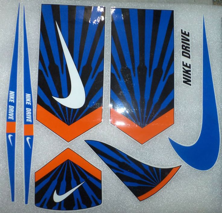 Nike Cricket Bat Stickers Food Glorious Food