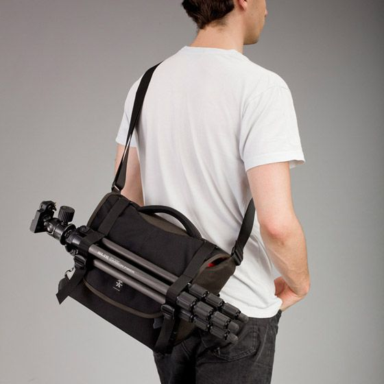 6 Million Dollar Home by Crumpler. Can hold all my gear and tripod as well!