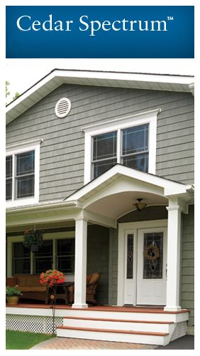 Shakes and Shingles -Shakes and Shingles | Georgia-Pacific. Love this style of siding and it is vinyl