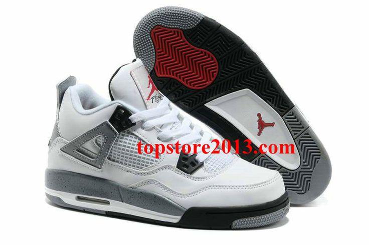 For Sale Air Jordan 4 Cement White Black Cement Grey