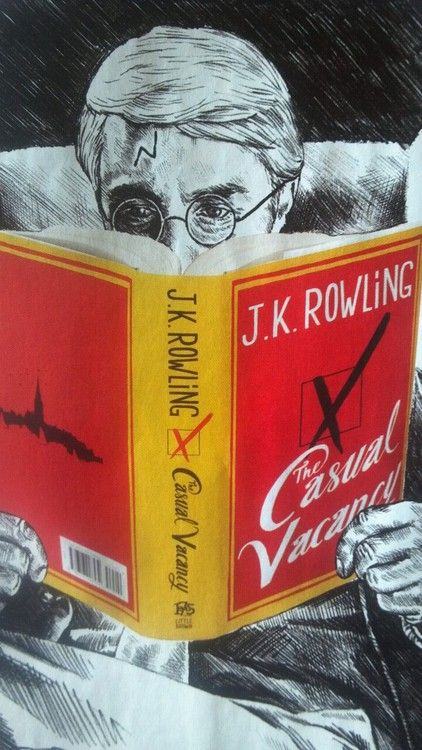 turning-on-the-light:    Time Magazine art for The Casual Vacancy review