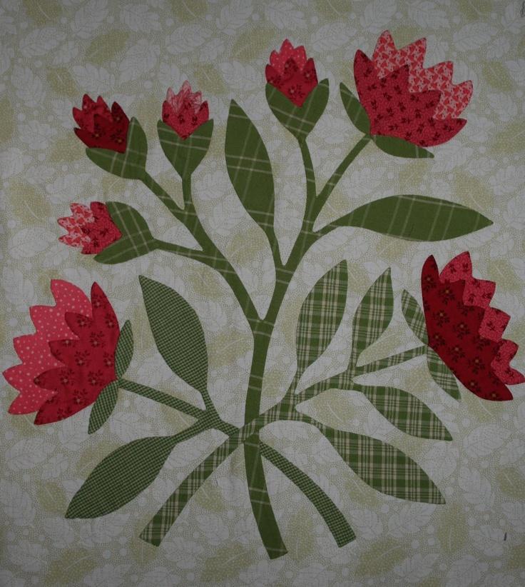 Flor agulha virada