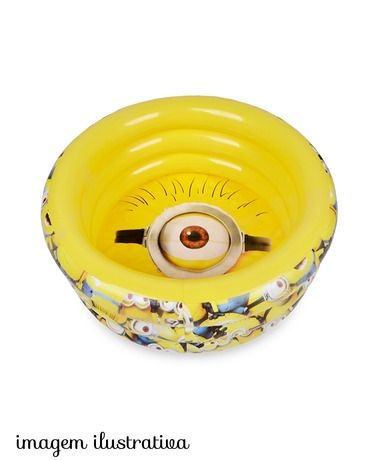 Piscina inflável minions