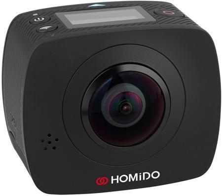 Homido Cam 360 - панорамная видеокамера (Black)  — 14990 руб. —  Панорамная видеокамера