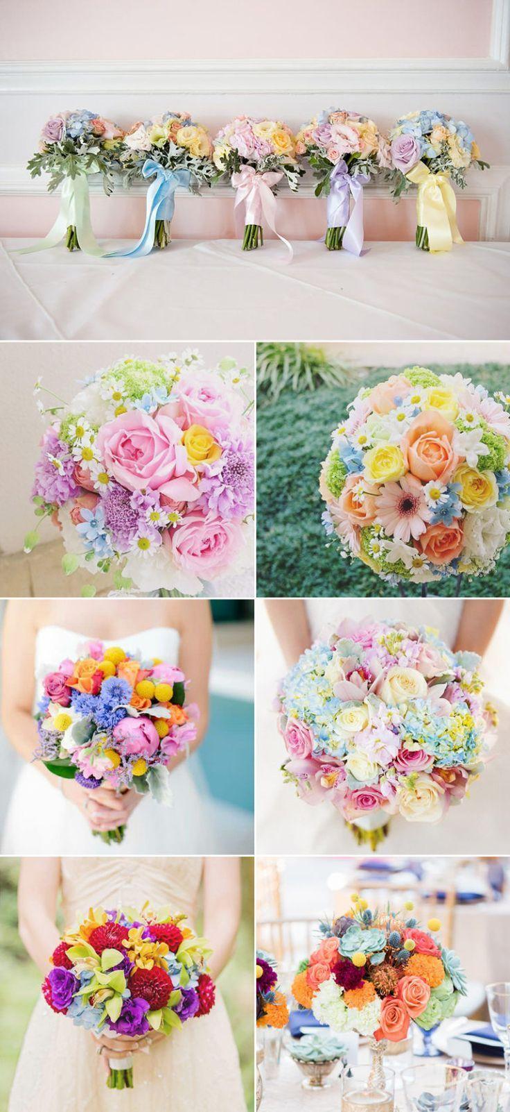 modern wedding alternative wedding Wedding bouquet yellow flowers wedding flowers rainbow wedding with fabric flowers fabric bouquet