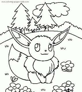 Pokemon Color Page. Cartoon Characters Coloring Pages. Coloring Pages For  Kids. Thousands Of Free Printable Coloring Pages For Kids!