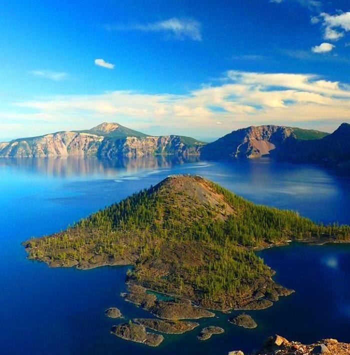 Parques Nacionales. Parque Nacional del Lago del Cráter, Oregón, Estados Unidos