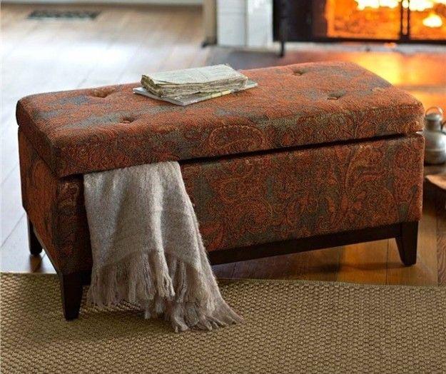 Modus Upholstered Milano Blanket Storage Bench White: 17 Best Ideas About Upholstered Storage Bench On Pinterest