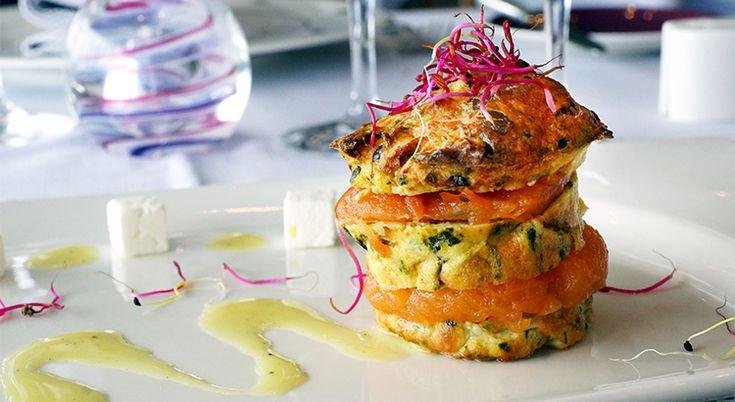 Une entrée diététique, gourmande et équilibrée proposée par Patrice Dugué, chef aux Thermes Marins de Saint-Malo.