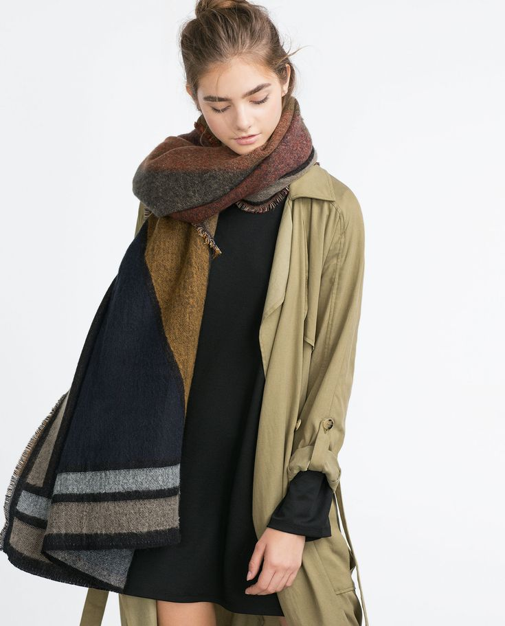 Zara Jacquard Scarf http://www.zara.com/tr/en/woman/accessories/scarves/jacquard-scarf-c271013p2902541.html