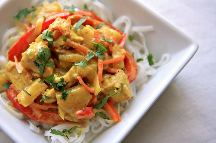 Coconut and Pineapple Chicken Curry: Made this tonight and it was SOOOOO good!
