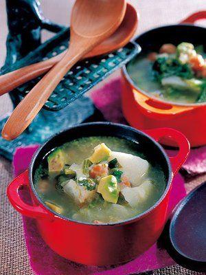 【ELLE a table】かぶとひよこ豆のスープレシピ|エル・オンライン