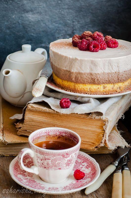 Мой муж очень любит всякие желатиновые и кремовые десерты, а я люблю ему их готовить.:) Раньше я немного побаивалась желатина, но с практикой этот страх прошел.…