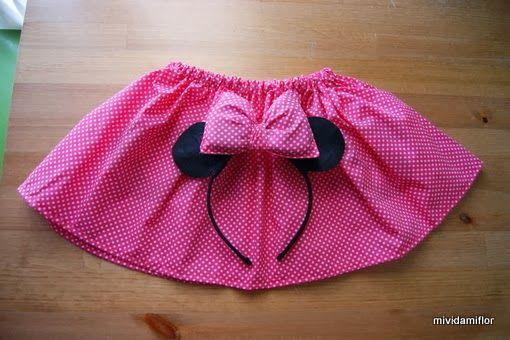 mi vida mi Flor: Disfraz de Minnie