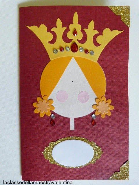 Care creative, oggi vi faccio vedere dei quadernetti per le vostre bimbe... anzi per le vostre piccole regine.                           ...