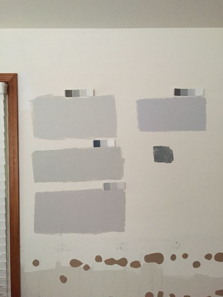 Bm paints from top left gray owl cliffside gray for Benjamin moore stonington gray exterior