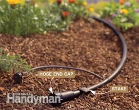 How to Install a Drip Irrigation System in Your Yard | The Family Handyman