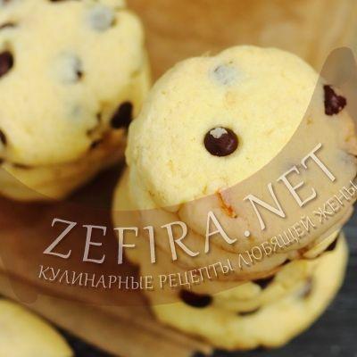 Американское печенье с кусочками шоколада-домашние рецепты с фото