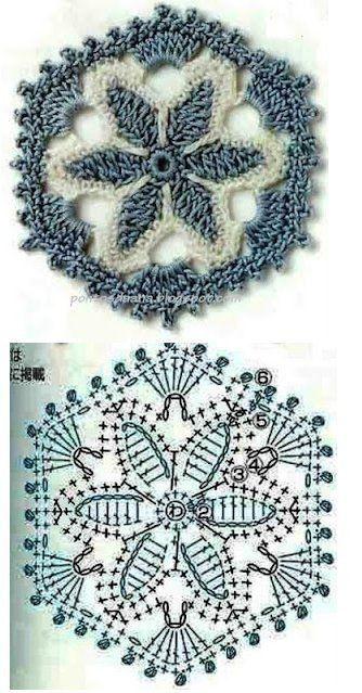 mandala crochet (23)                                                                                                                                                                                 Más