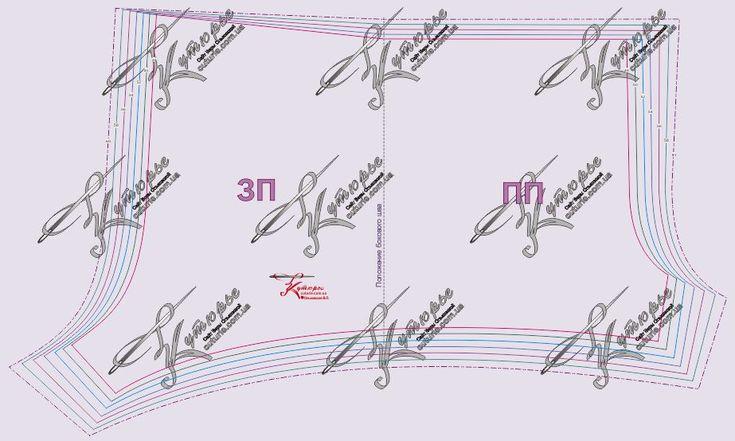 бесплатная выкройка мужских шортов размеры 48-60 рис 2