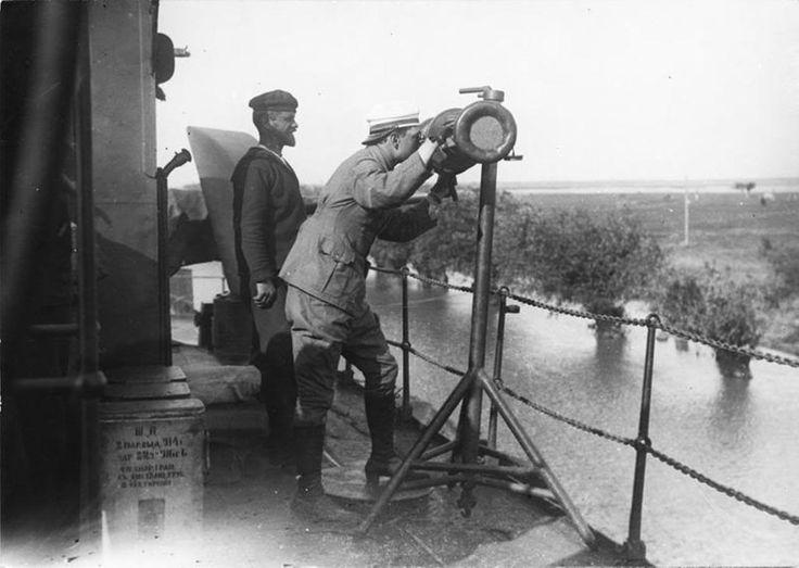Monitoare romanesti in primul razboi mondial (serviciul fotografic al armatei romane):