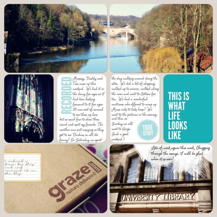 Creating Paper Dreams: Project Life week 9 Love the large landscape photo