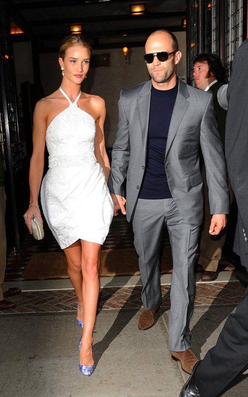 Rosie Huntington Whiteley with Jason Statham