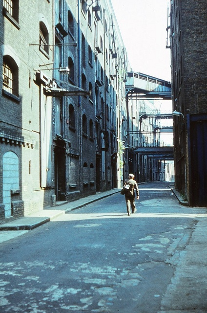 Shad Thames, Bermondsey, London 1981