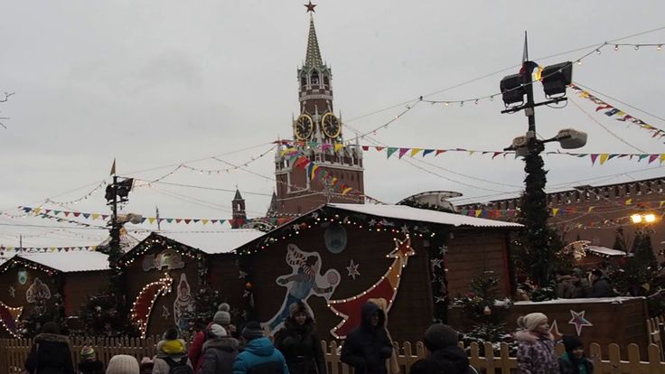 Январская Красная площадь - день (January Red Square - the day)