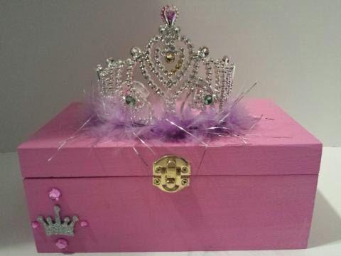 Children's Jewelry Box, Princess Crown,Jewelry Box, Boys Keepsake Box,Kids Keepsake Box,Girls Jewelry Box,Trophy,Baby Birthday, Glitz Crown by PearlBellaGifts on Etsy https://www.etsy.com/listing/225314094/childrens-jewelry-box-princess