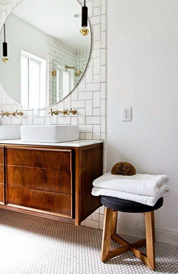 Hoy os dejo 15 ideas de zonas de lavabo con mucha inspiración.