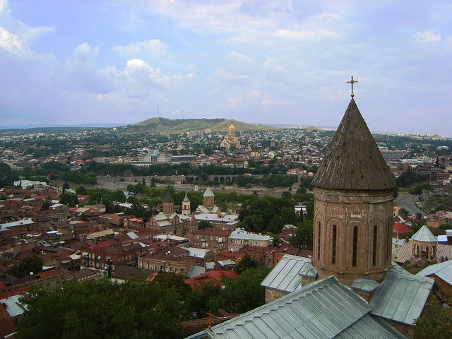 City Tbilisi, Georgia. It was founded in the 5th century by the Georgian King of Iberia.